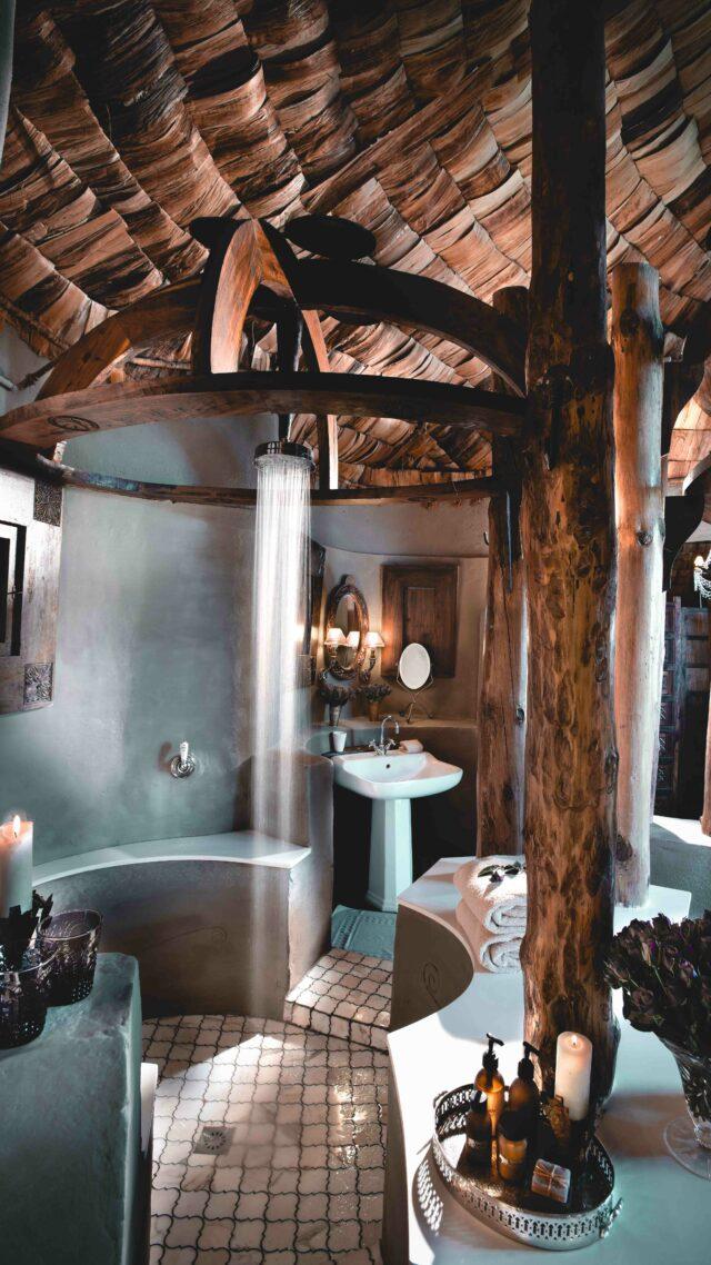 shower bathroom-andbeyond ngorongoro crater lodge tanzania