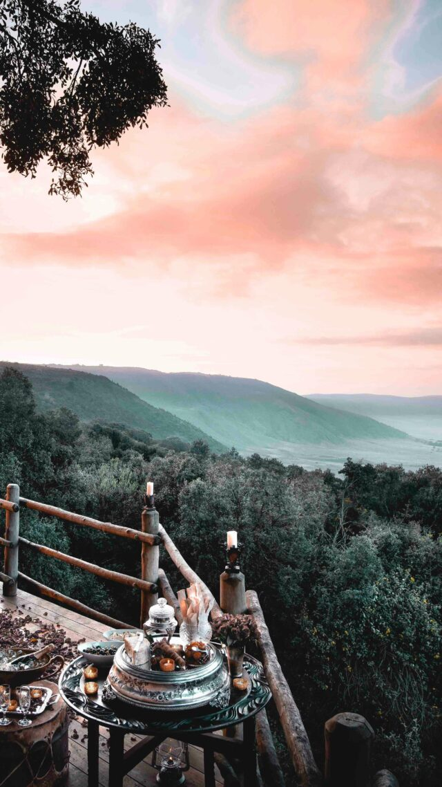 lunch spot-andbeyond ngorongoro crater lodge tanzania