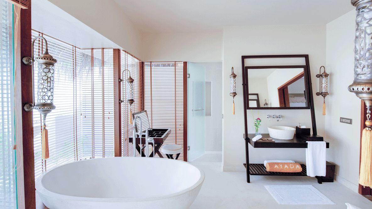 freestanding bathtub-ayada maldives