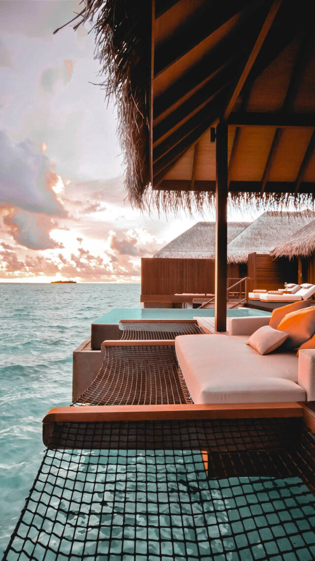 sunbed hammock-ayada maldives