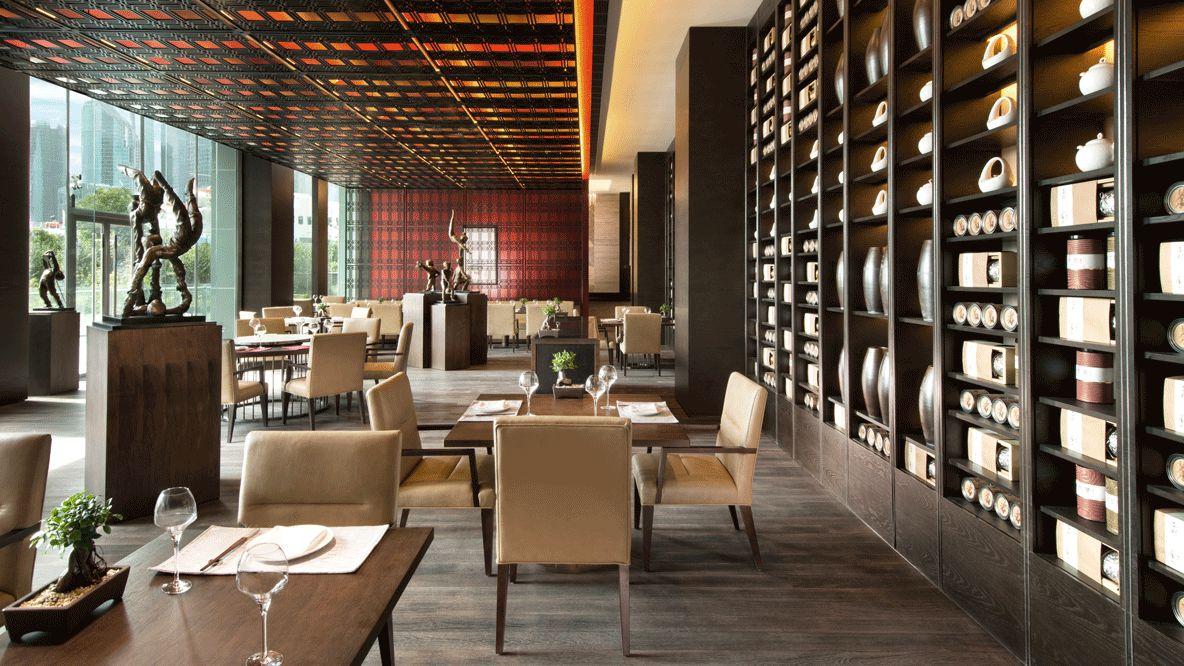 restaurant hotel-banyan tree shanghai on the bund
