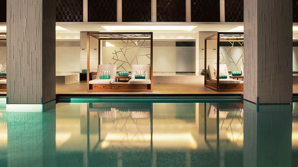 heated indoor pool-banyan tree shanghai on the bund