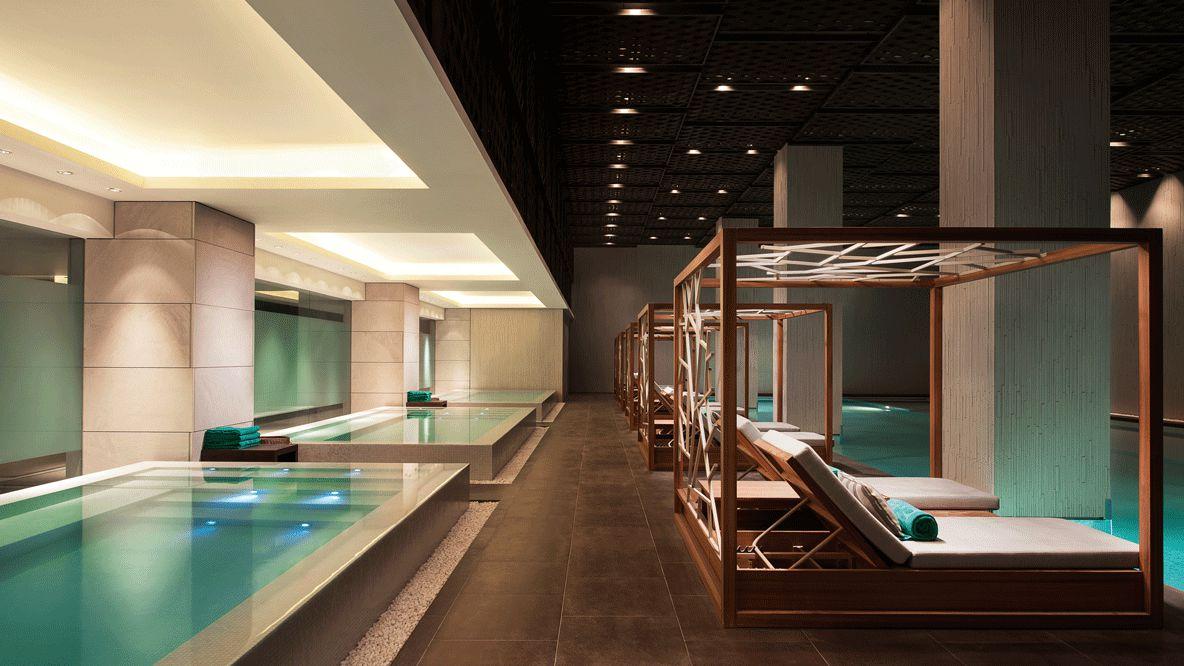 indoor pools-banyan tree shanghai on the bund