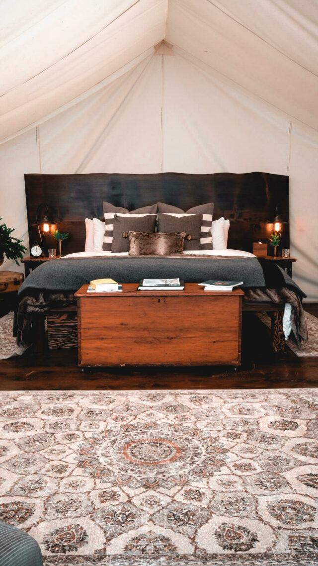 bedroom tent-clayoquot wilderness resort canada