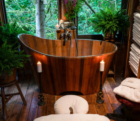 spa treatment-clayoquot wilderness resort canada