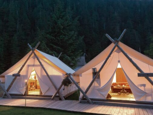 luxury tents-clayoquot wilderness resort canada
