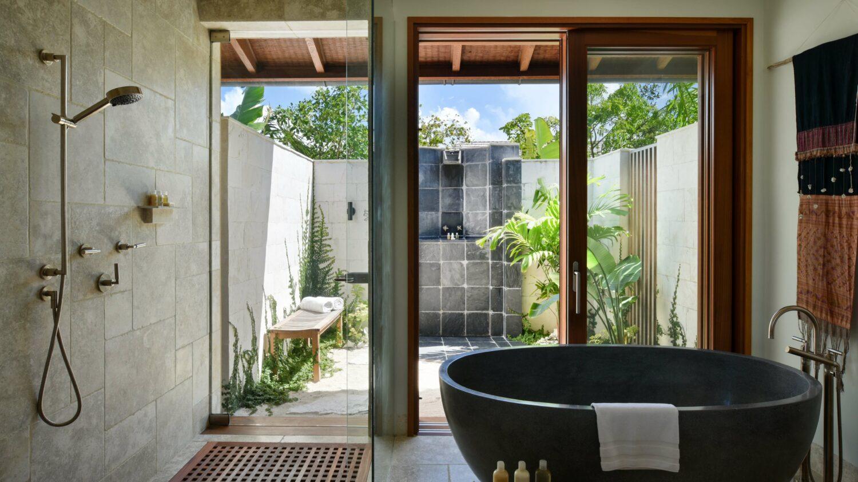 modern bathroom-como parrot cay turks and caicos