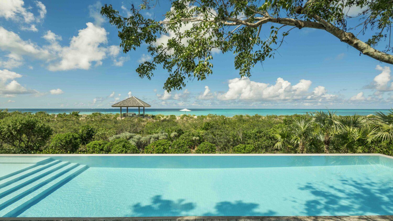 pool view villa-como parrot cay turks and caicos