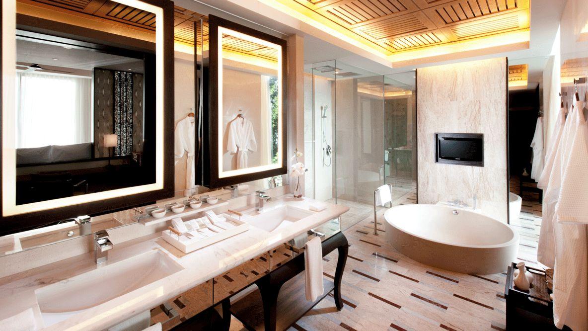 bathroom suite-conrad koh samui thailand