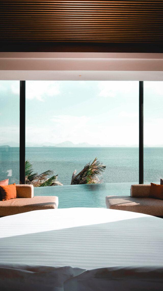 bedroom-conrad koh samui thailand