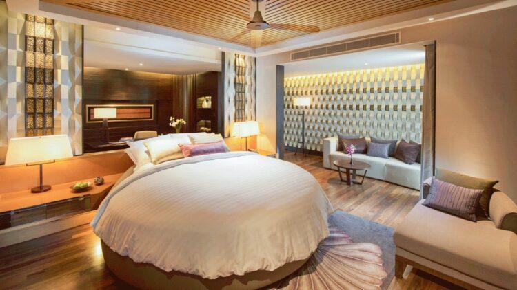 master bedroom-conrad koh samui thailand
