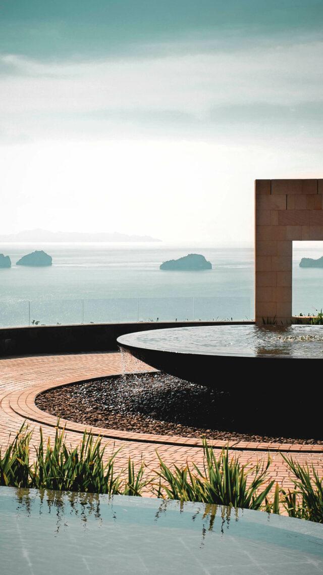 garden area-conrad koh samui thailand