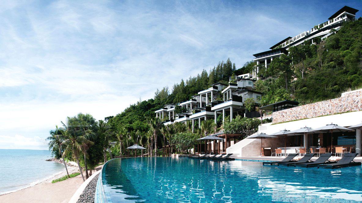 pool view-conrad koh samui thailand