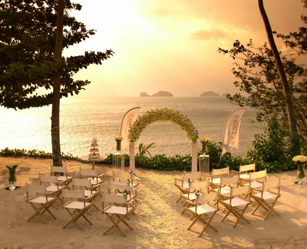 wedding venue-conrad koh samui thailand