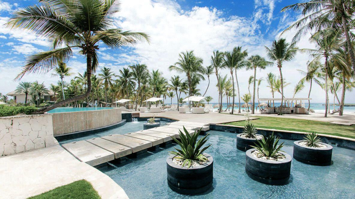 outdoor pool area-eden roc cap cana dominican republic