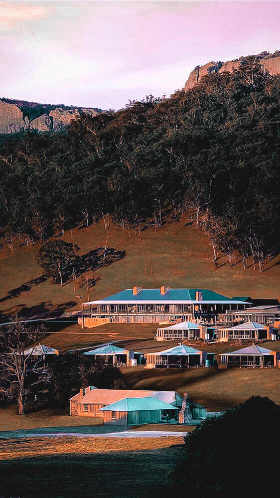 overview location-emirates one&only wolgan valley australia