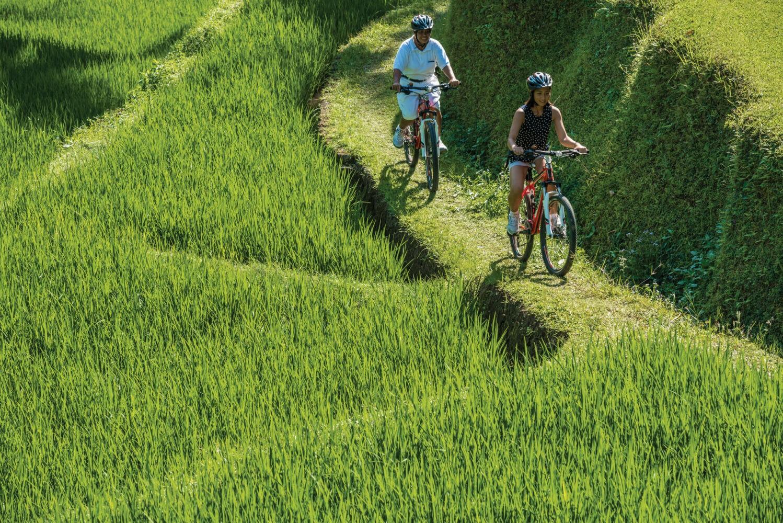 biking-four seasons resort bali at sayan