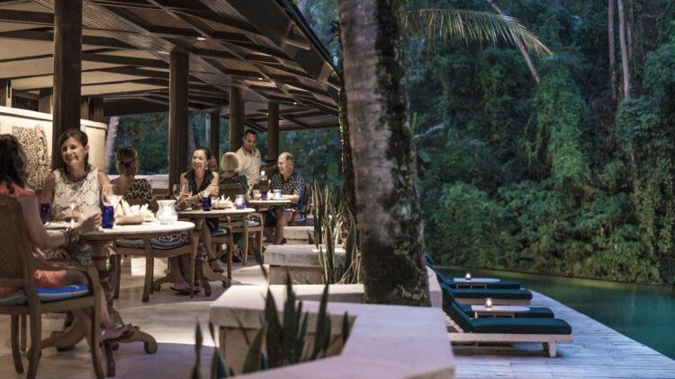 culinary-four seasons resort bali at sayan