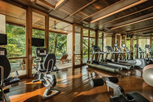 gym-four seasons resort bali at sayan