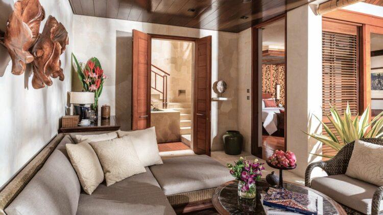 livingroom suite-four seasons resort bali at sayan