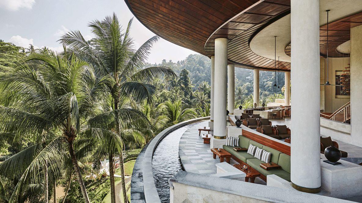 lounge-four seasons resort bali at sayan
