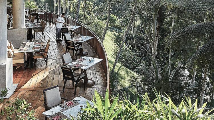 terrace restaurant-four seasons resort bali at sayan