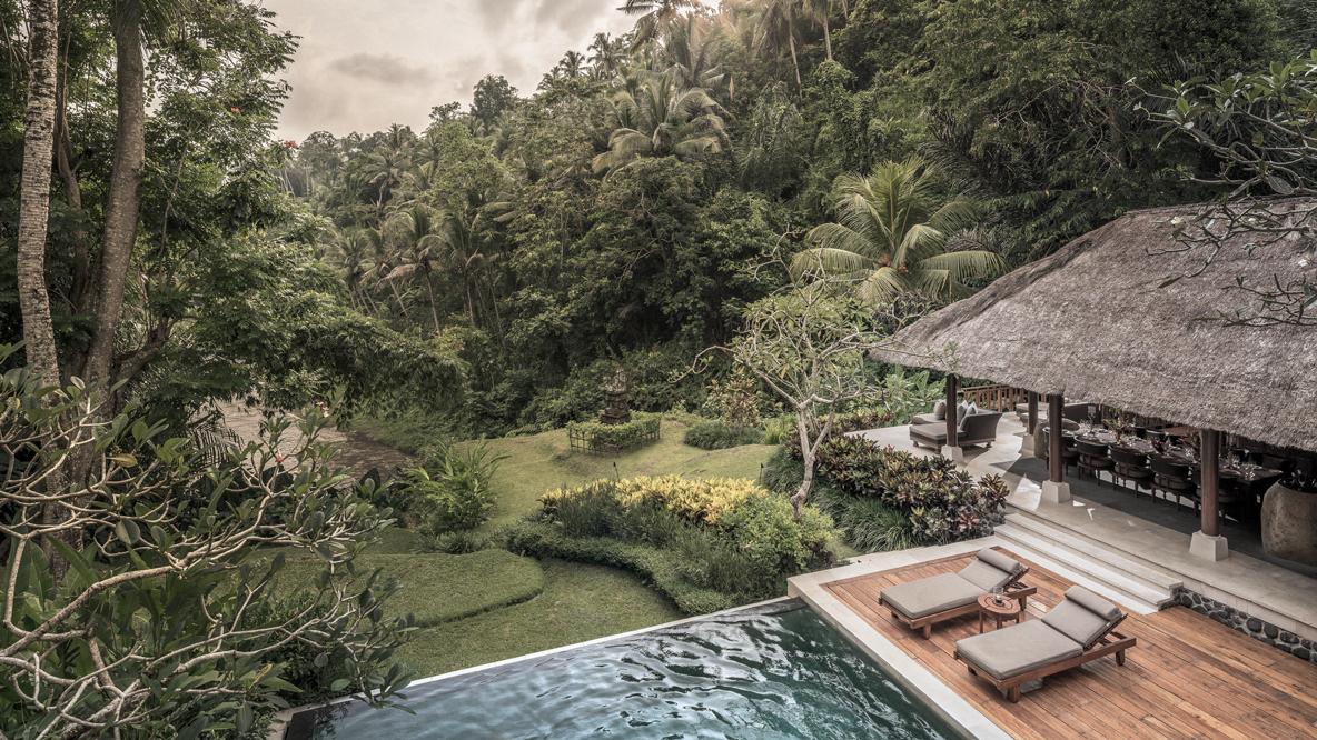 infinity pool villa-four seasons resort bali at sayan