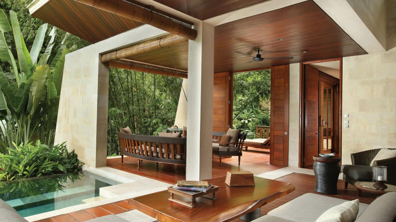 villa with pool-four seasons resort bali at sayan