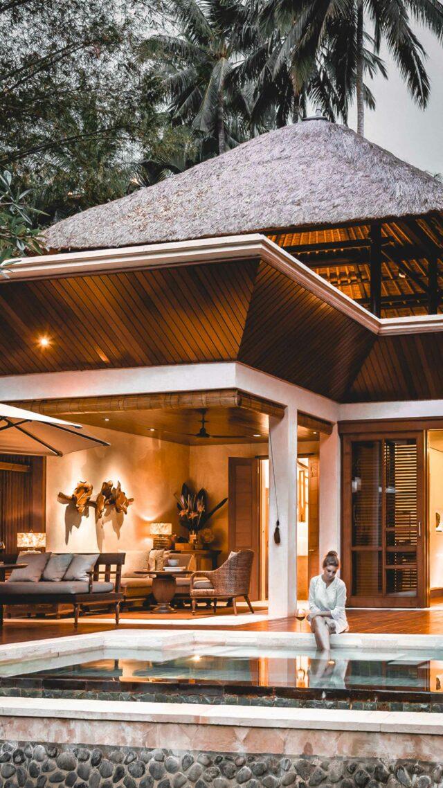 villa pool-four seasons resort bali at sayan