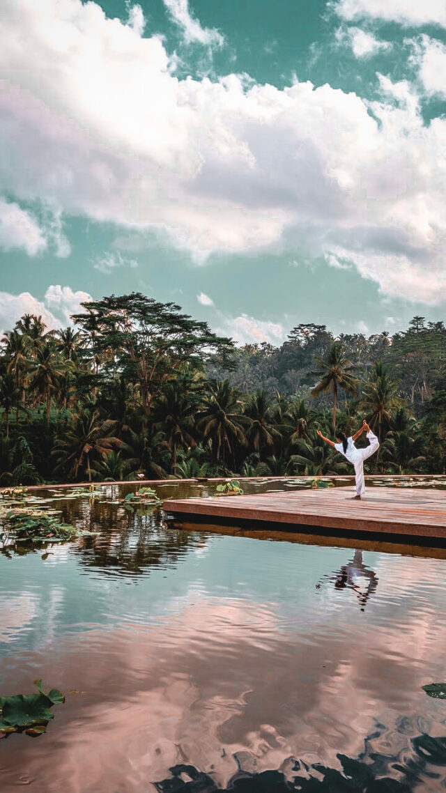 yoga course-four seasons resort bali at sayan