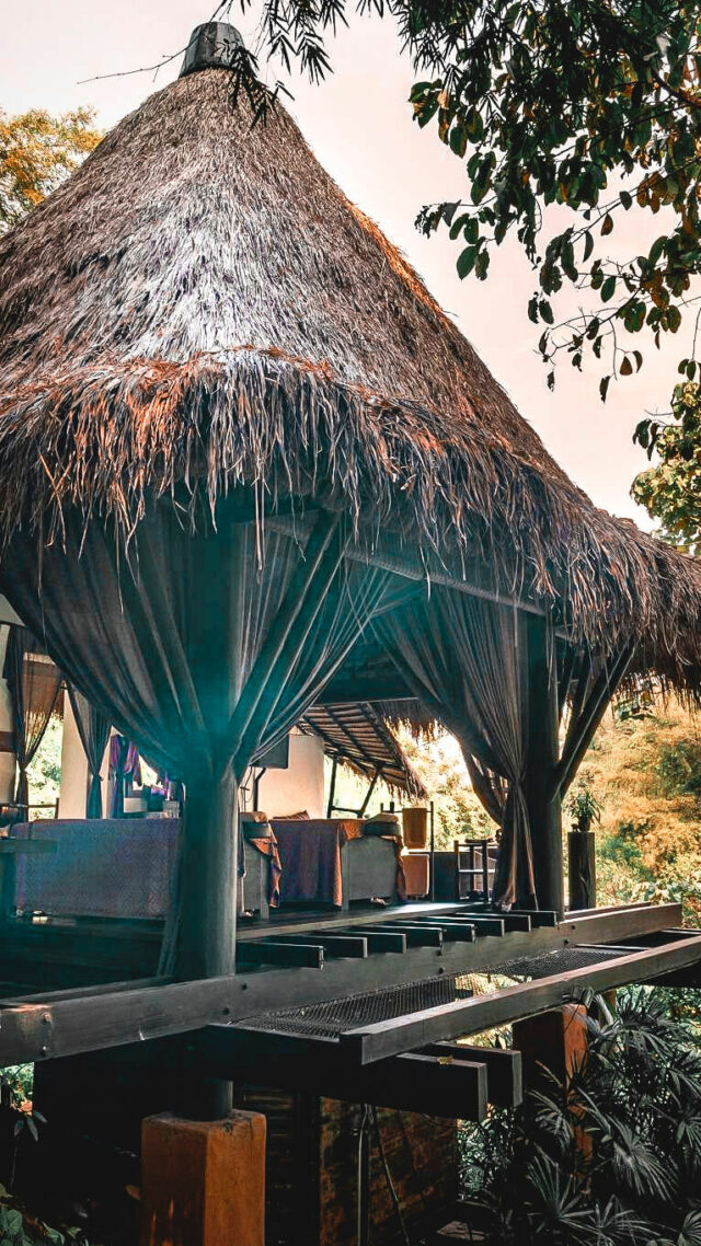 outdoor spa-four seasons tented camp golden triangle thailand