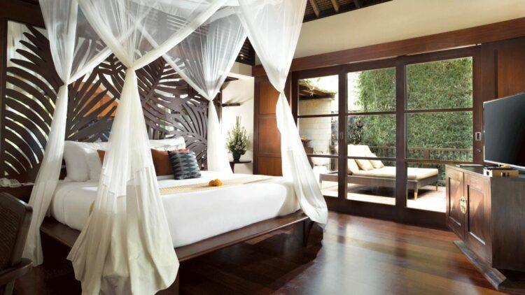 bedroom jungle-hanging garden of bali