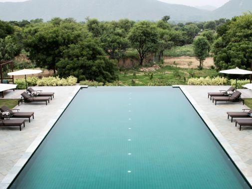 outdoor pool-alila fort bishangarh india