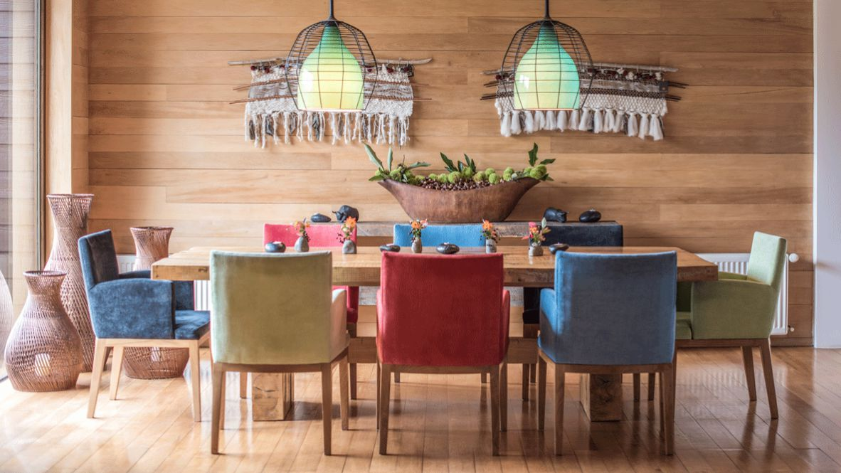 hotels in heaven and beyond vira vira culinary colorful lamp art table flower decoration wood luxury figure stone