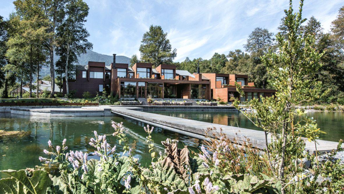 hotels in heaven and beyond vira vira location pond accommodation house bridge water tree plants luxury lake hill