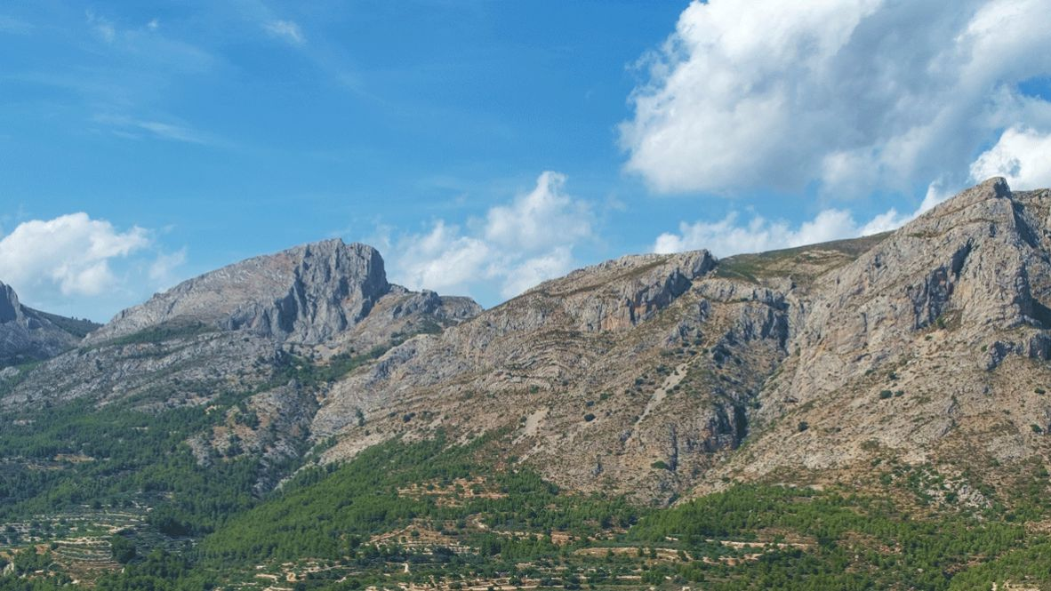 hotels in heaven guadalest vivood location sky clouds meadow mountain stone nature
