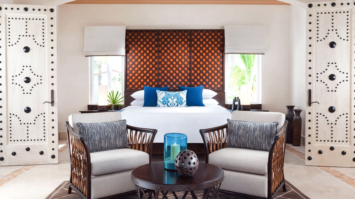 hotels in heaven one and only palmilla bedroom suite luxury hotel bed comfortable couch table windows decoration