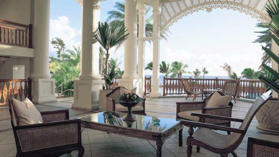 hotels in heaven residence mauritius lounge ocean view plants terrace sea balcony flower seats noble