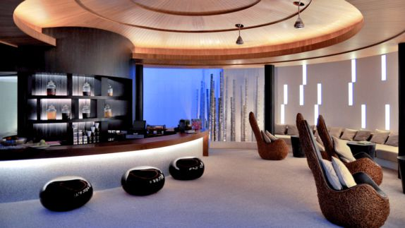 hotels in heaven viceroy los cabos culinary bar luxury hotel seats lounge advanced noble fancy light couch pillow apple