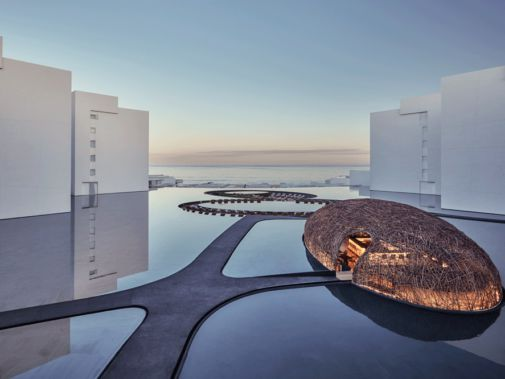 hotels in heaven viceroy los cabos pool mirror ocean view artistry view sky sea amazing luxury hotel way outside sunset