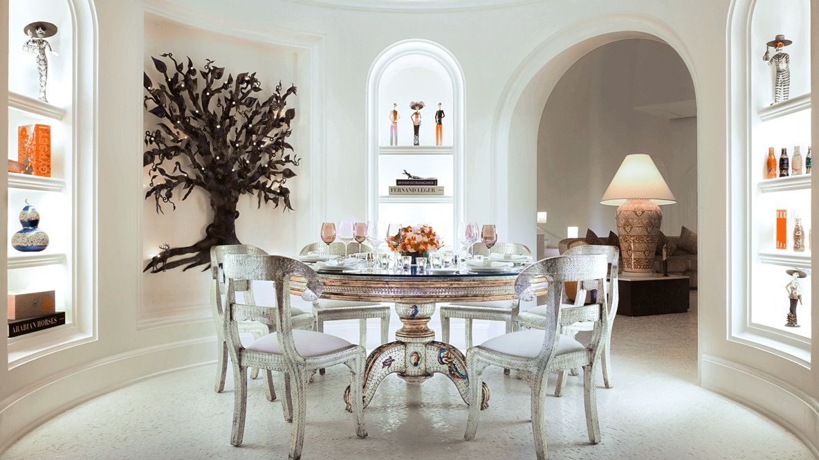 dinner table-las ventanas al paraiso mexico