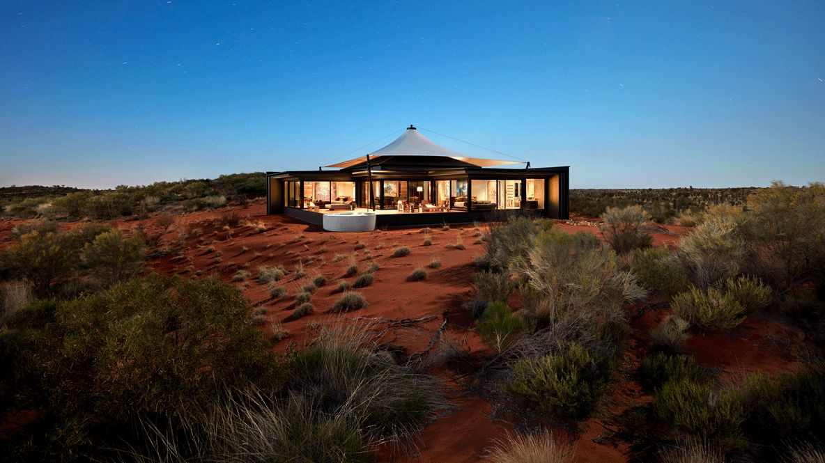 overview hotel-longitude 131° australia