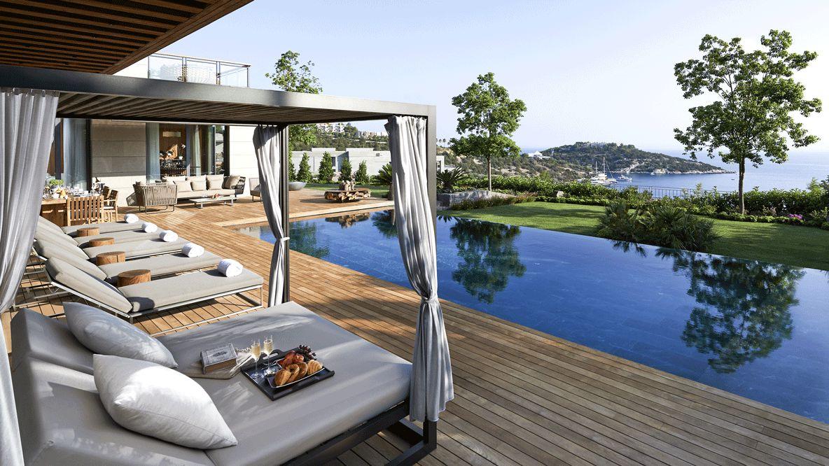 villa pool-mandarin oriental bodrum
