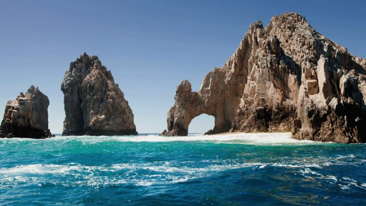 hotels in heaven one and only palmilla beach ocean cave sea nature waves blue green water view beautiful stone