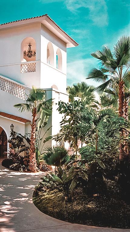 facade entrance-one&only palmilla los cabos