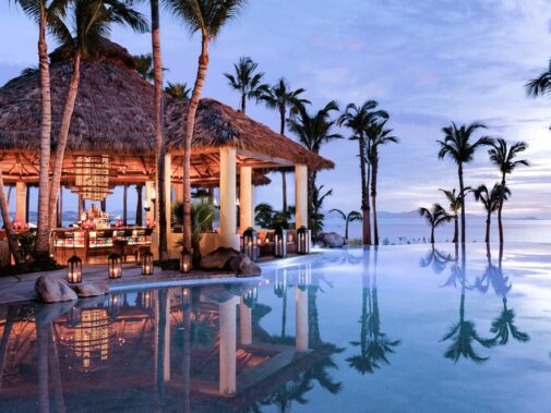 pool view bar-one&only palmilla los cabos