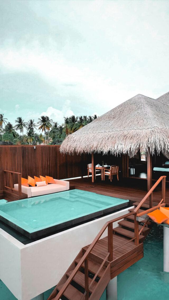 overwater villa ocean-ayada maldives