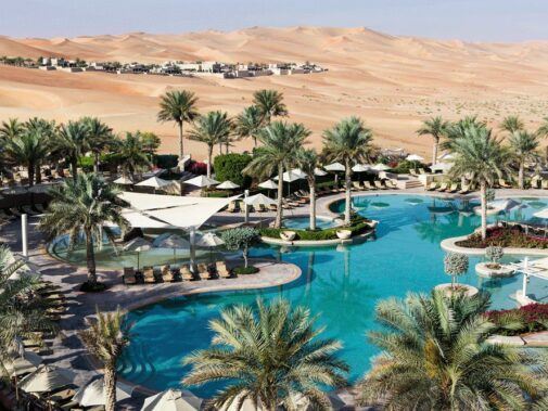 pool area-qasr al sarab uae