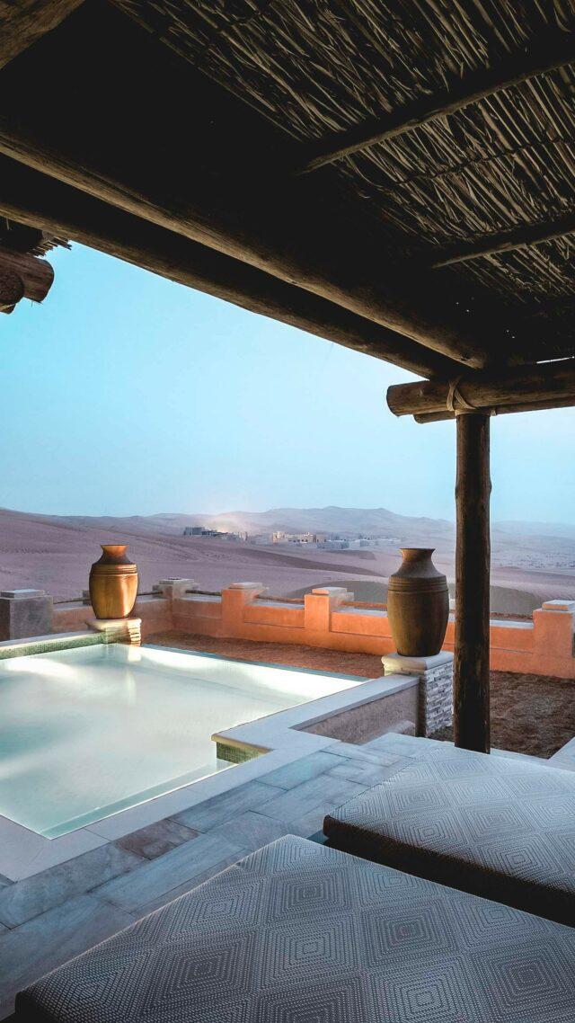 private pool view-qasr al sarab uae