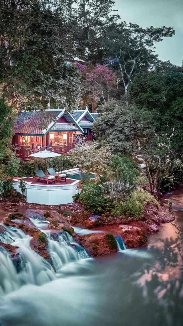 suite with private pool-rosewood luang prabang laos